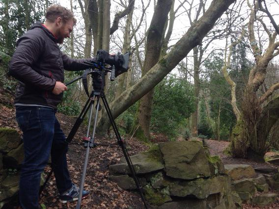 Filming behind the scenes with Paul Pickford